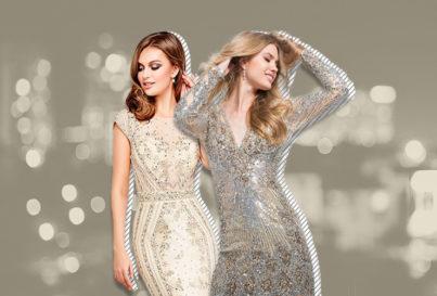 5 modelos incríveis de vestido de festa com pedraria!